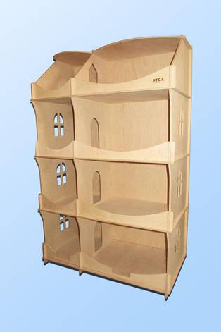 деревянный кукольный домик для детского творчества шкаф купить в