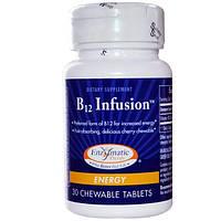 Enzymatic Therapy, Экстракт витамина B12, энергетический, 30 жевательных таблеток