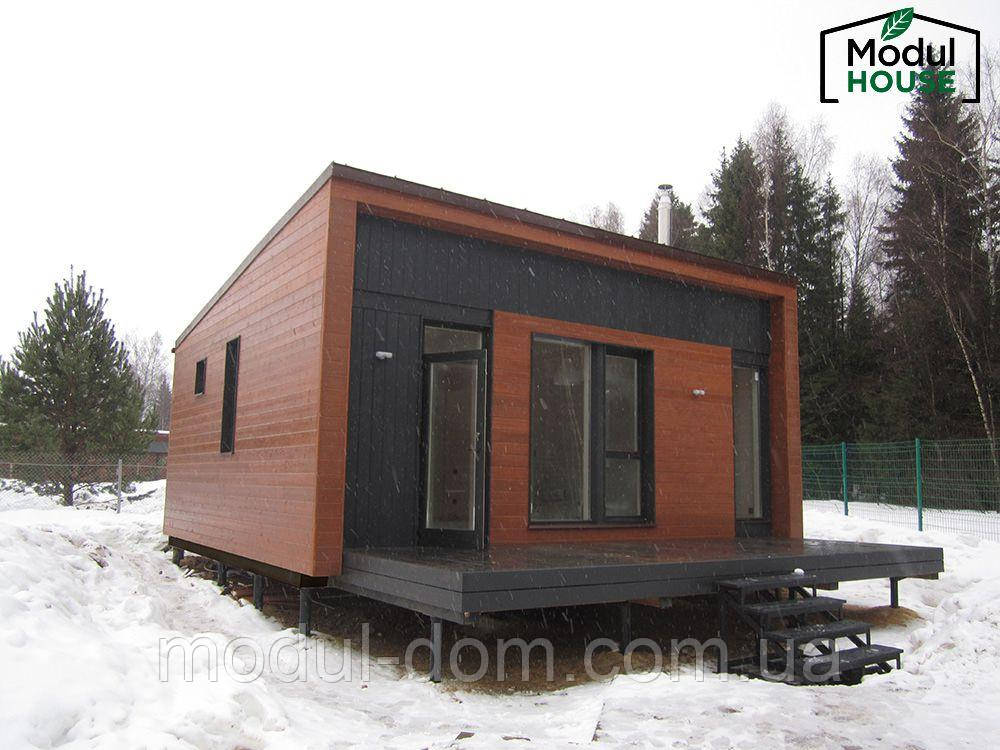 модульные дома для круглогодичного проживания фото