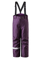 Зимние штаны на подтяжках для девочки Lassie 722696 - 4980. Размер 104 - 140.