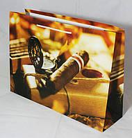 Подарочный пакет (мужская и нейтральная серии, гигант горизонтальный)