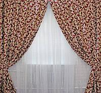 Готовые шторы для спальни плотные