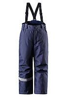 Зимние штаны на подтяжках для мальчиков Lassie 722696-6990. Размер 104 - 140.