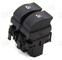 Кнопка  стеклоподъёмника (водительский на 2 кнопки) Renault Trafic 07->10 Renault Оригинал Франция 8200057319