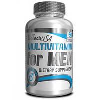 Витамины и минералы для мужчин Multivitamin for MAN BiotechUSA 60tab