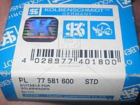 Вкладыши шатунные VAG STD 1,8 20V/2,0 FSi/TFSi 16V (производитель KS) 77581600