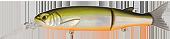 Воблер Strike Pro Glider-X 105F 14.8гр EG-157L(612T)