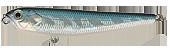 Воблер Strike Pro Hot Dog 65F 4.5гр(A187V