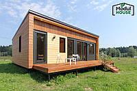 Модульные частные дома , Модульный каркасный дом, Модульный дом для постоянного проживания под ключ
