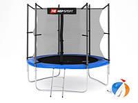 Батут с защитной сеткой Hop-Sport 244 см