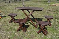 Стол для пикника + 4 стула