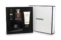 Подарочный набор Chanel парфюм косметика 4в1