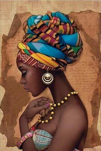 Картина по номерам в подарочной коробке. Жемчужина Африки 35х50см арт. КН2625