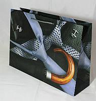 Подарочный пакет (мужская и нейтральная серии, большой горизонтальный)