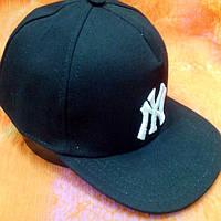 Кепка  хип-хоп NY черная