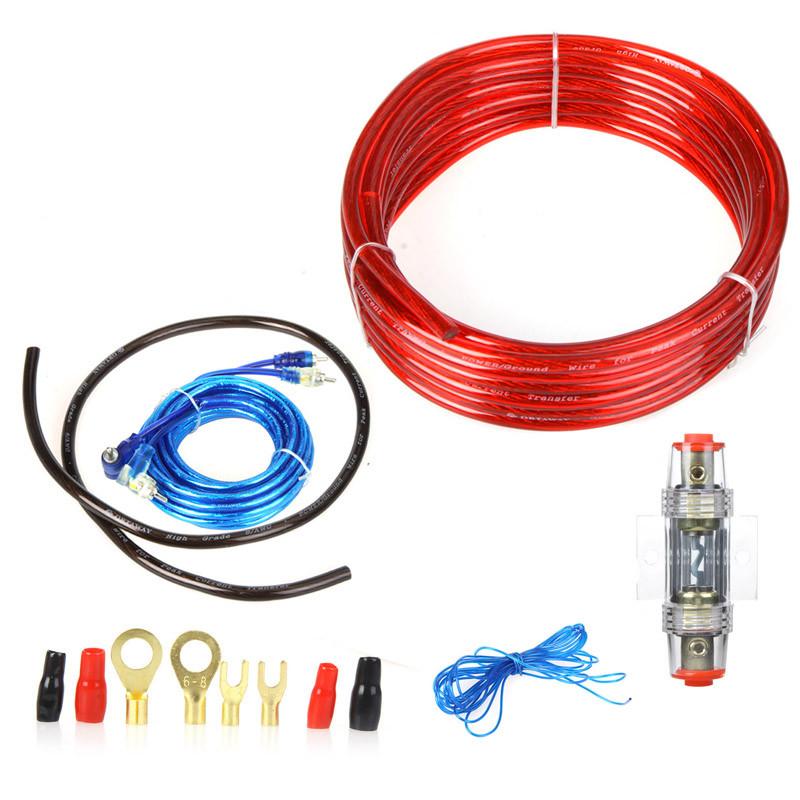 Комплект кабелей для подключения сабвуфера
