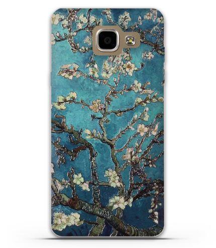 Оригинальный чехол накладка для Samsung A5-2016 Galaxy A510 с картинкой Цвет миндаля
