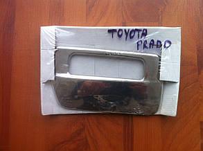 Накладка на ручку крышки багажника Toyota Prado 120