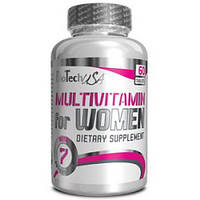Комплекс витаминов и минералов для женщин Multivitamin for Women 60 tabs BioTech