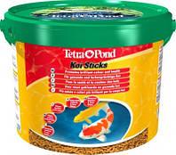 Корм для риб TetraPond KOI Sticks - 10л - плаваючі гранули для коропів Коі