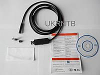 Эндоскоп / Миникамера / веб-камера (автофокус, подсветка, диаметр 7 мм / USB кабель 2 м)
