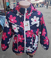 Весенняя детская курточка с оригинальными карманами 50251