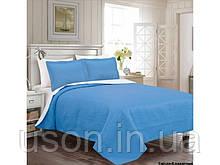 Покрывало на кровать Arya Rainbow 250*260  голубое