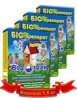 Биопрепарат для выгребных ям септиков и уличных туалетов 1,5 кг