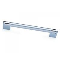Ручка мебельная со вставкой 128мм D450