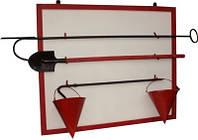 Щит пожарный металлический в комплекте