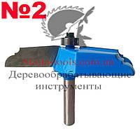 №2 Фигирейная горизонтальная фреза D89 H62 d8 Karnasch
