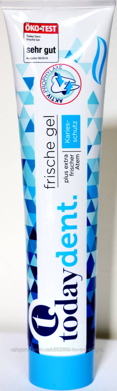 Зубная паста Today dent frische gel 125 мл.