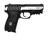 Пистолет пневматический Gletcher SS P232L (BlowBack), 19 зарядов, 4,5 мм калибр, полуавтомат. Пневматика.