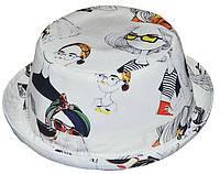 Шляпа детская котелок очки