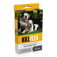 KILLFLEA (45см) ошейник для собак средних пород