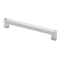 Ручка мебельная 224мм AL/PC 1132(14.245)