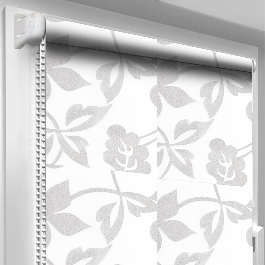 Рулонная штора DecoSharm В1001 Белая