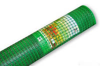 Сетка Вольерная для Птиц  (ячейка 30х30мм)   1.5м Х100 м  (зеленая,черная)