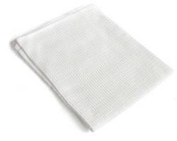 Рушник вафельний 45*75см білий 29955