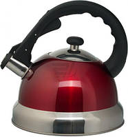 Чайник со свистком Aurora AU 603 нержавеющая сталь