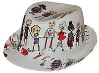 Шляпа детская челентанка комби хоровод