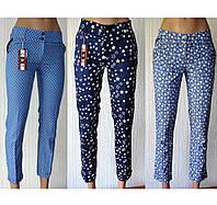 Женские летние брюки. Хлопок-стрейч. Распродажа. , фото 1