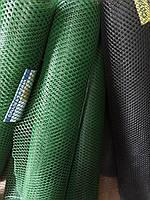 Сетка Вольерная для Птиц  (ячейка 30х30мм)   1,5м Х100 М (зеленая,черная)