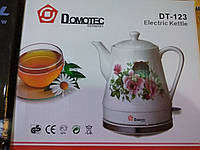 Керамический электрочайник Domotec DT-123