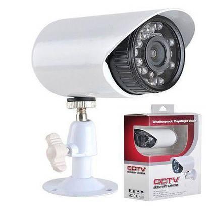 Камера видеонаблюдения уличная поворотная CAMERA 529 AKT водонипроницаемая , фото 2