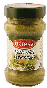 Соус песто класичний Baresa Pesto Alla Genovese, 190 гр.