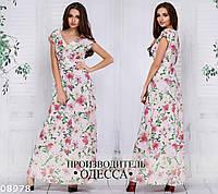 Платье длинное 08978