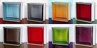 Стеклоблоки Seves Glassblock Basic Brilly C цветные гладкие