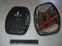 Зеркало боковое УАЗ 452 250х160 плоское пластиковая корпуса (производитель Россия) 452-8201020-П1