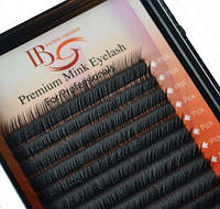 Ресницы I-Beauty на ленте Mink Eyelashes (20 линий) форма С длина 11 мм, толщина 0,12 мм